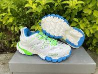Balenciaga Track Trainers 3.0 White/Blue/Green