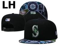 MLB Seattle Mariners Snapback Hat (13)