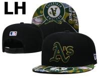 MLB Oakland Athletics Snapback Hat (46)
