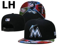MLB Miami Marlins Snapback Hat (31)