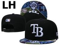 MLB Tampa Bay Rays Snapback Hat (15)