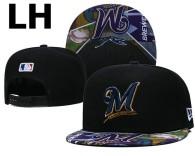 MLB Milwaukee Brewers Snapback Hat (20)