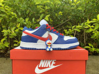 Authentic Nike SB Dunk Low White/Blue/Red/Black