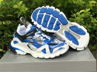 Balenciaga Track Trainers 4.0 White/Blue/Black/Grey