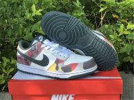 Authentic Nike Dunk Low Multi-Camo