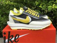 Authentic Sacai x Nike LDV Waffle Black/Yellow