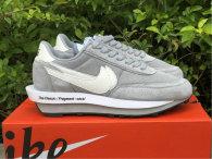 Authentic Fragment x sacai x Nike LDWaffle Summot White/Wolf Grey