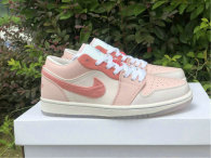 """Authentic Air Jordan 1 GS Low """"Mighty Swooshes"""""""