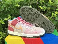 Authentic Social Status x Nike Dunk Low Light Soft Pink/Coconut Milk-Pink Glaze