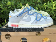 """Authentic Off-White x Nike Dunk Low """"05 to 50"""""""