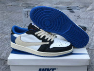 Authentic Travis Scott x Fragment x Air Jordan 1 Low OG
