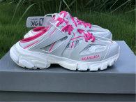Balenciaga Track Trainers 3.0 White/Pink/Fuchsine
