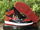 "Authentic Air Jordan 1 High OG ""Bred Patent"""
