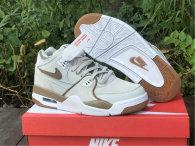 Authentic Nike Air Flight 89 Khaki/White