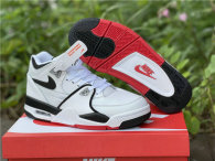 Authentic Nike Air Flight 89 White/Black/Red