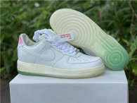 Authentic Nike Air Force low '1 07 White/Sail/Racer Pink