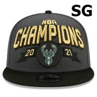 2021 NBA CHAMPIONS Milwaukee Bucks Snapback Hat