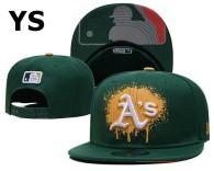 MLB Oakland Athletics Snapback Hat (47)