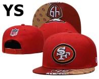 NFL San Francisco 49ers Snapback Hat (515)