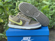Authentic UNDEFEATED x Nike DUNK Low Canteen/Lemon Frost