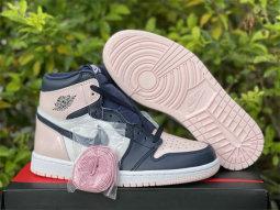 "Authentic Air Jordan 1 High OG ""Atmosphere"" Women Shoes"