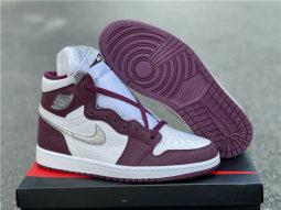 "Authentic Air Jordan 1 High OG ""Bordeaux"""