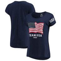 USA Team 2020 Women's T-Shirt - Navy