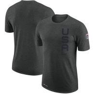 Team USA Basketball Nike Team Performance T-Shirt – Heathered Gray