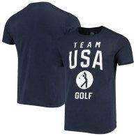 Team USA Golf Pictogram T-Shirt - Navy