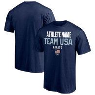 Team USA Karate Fanatics Branded Athlete Futures Pick-An-Athlete Roster T-Shirt - Navy