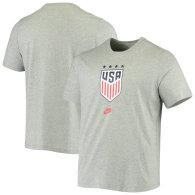 USWNT Nike 4-Star Crest T-Shirt – Heathered Gray