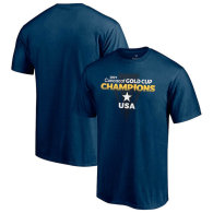USMNT Fanatics Branded 2021 Concacaf Gold Cup Champions T-Shirt - Navy