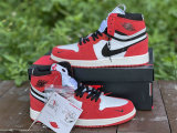 Authentic Air Jordan 1 High Switch Red/Black/White