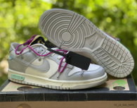 """Authentic Off-White x Nike Dunk Low """"30 to 50"""""""