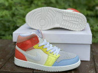 """Authentic Air Jordan 1 Mid """"To My First Coach"""" GS"""