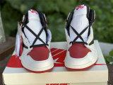 Authentic Travis Scott x Air Jordan 1 High OG Gym Red/Black/White
