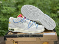 """Authentic Off-White x Nike Dunk Low """"35 to 50"""""""