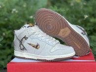 "Authentic Bodega x Nike Dunk High ""Legend"" Beige White"