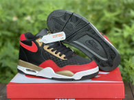 Authentic Nike Flight Legacy Black/Red/Gold