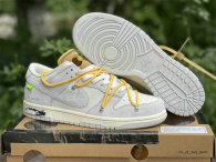 """Authentic Off-White x Nike Dunk Low """"The 50"""""""
