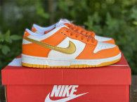 "Authentic Nike Dunk Low ""Golden Orange"""