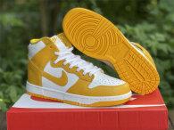 "Authentic Nike Dunk High ""Dark Sulfur"""