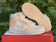 "Authentic Nike Dunk High WMNS ""Crimson Tint"""