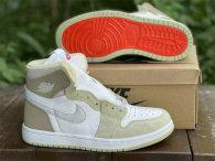 "Authentic Air Jordan 1 Zoom CMFT ""Olive Aura"" GS"