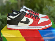 """Authentic NBA x Nike Dunk Low EMB """"Chicago"""""""