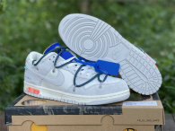 Authentic Off-White x Futura x Nike Dunk Low 16 to 50