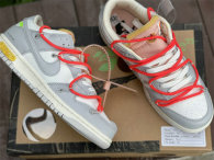 """Authentic Off-White x Futura x Nike Dunk Low """"06 to 50"""""""