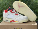 """Authentic Air Jordan 5 Low """"Chinese New Year"""""""