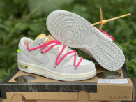 """Authentic Off-White x Futura x Nike Dunk Low """"17 to 50"""""""