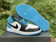 """Authentic Air Jordan 1 Low """"Laser Blue"""" GS"""